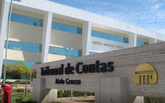 Tribunal de Contas do Mato Grosso (Foto: Reprodução)