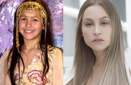 Carla Diaz interpretou a pequena Khadija, que ficou conhecida pelo bordão 'inshalá'. Este ano, ela foi uma das participantes do 'BBB' 21 Reprodução