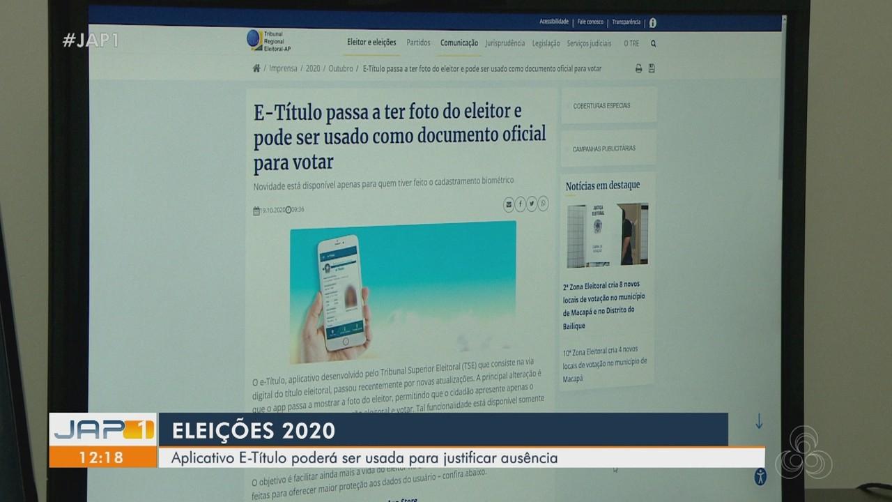 Aplicativo E-Título poderá ser usado para justificar ausência nas Eleições 2020