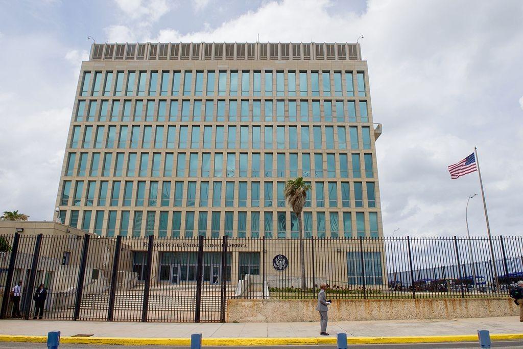 Embaixada dos Estados Unidos em Cuba (Foto: Wikimedia Commons)