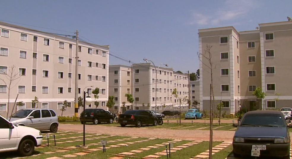 Imóveis da faixa 1,5 e 2 do Minha Casa Minha Vida representam maioria das contratações da Caixa (Foto: Paulo Chiari/EPTV)