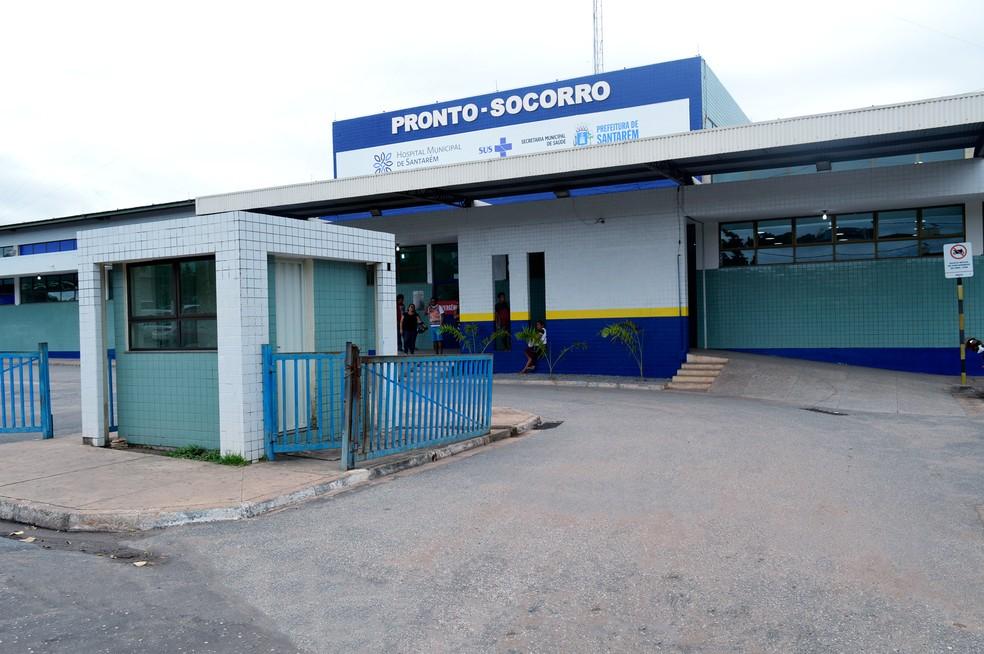 Hospital Municipal Dr. Alberto Tolentino Sotelo, em Santarém — Foto: Natashia Santana/Ascom HMS