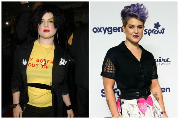 Kelly Osbourne (2002/2014) (Foto: Getty Images)