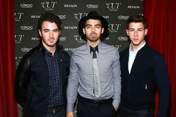 Kevin, Joe e Nick Jonas (Foto: Getty Images)