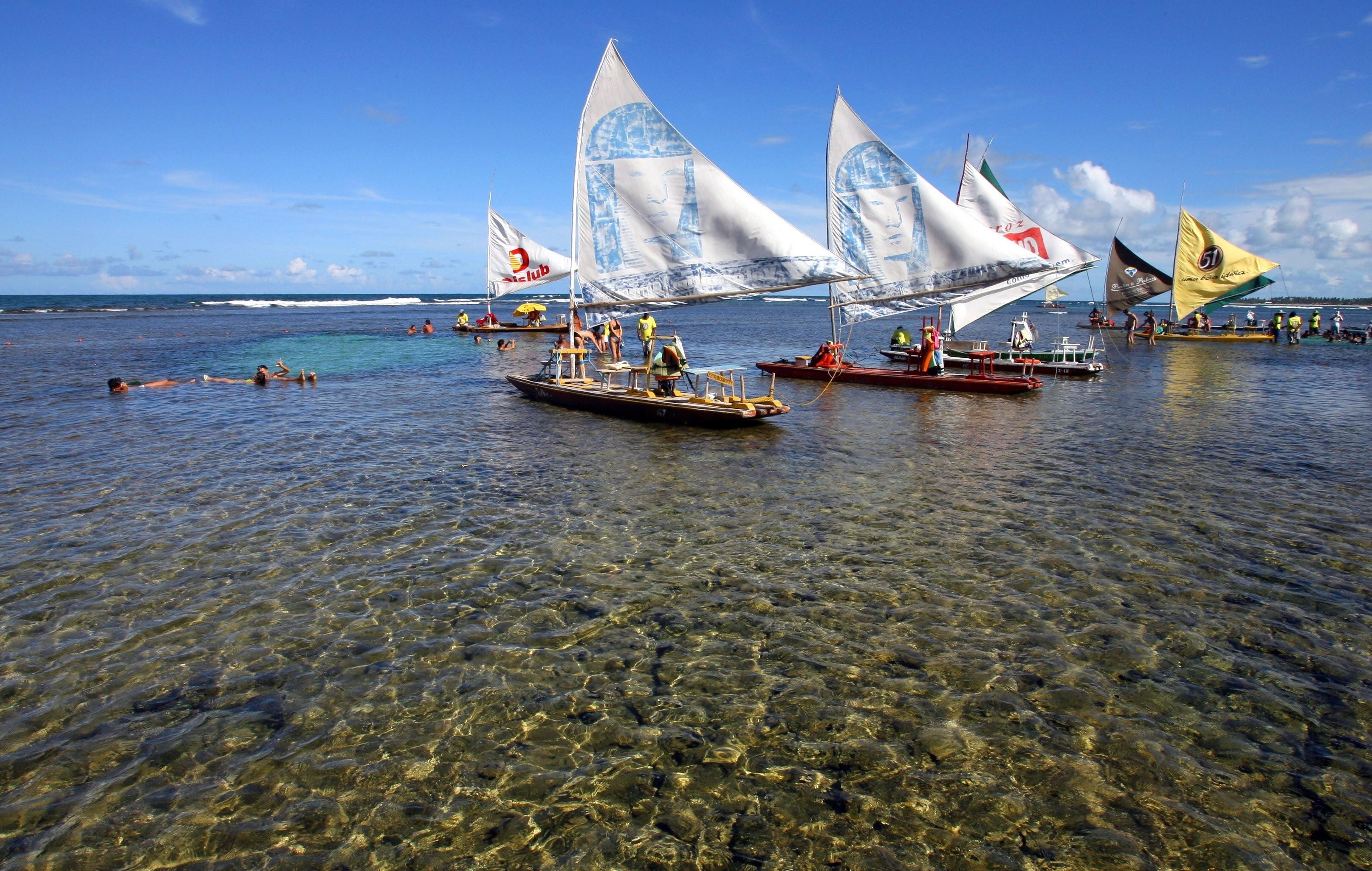Porto de Galinhas: um dos destinos mais citados em pesquisa com mil entrevistados