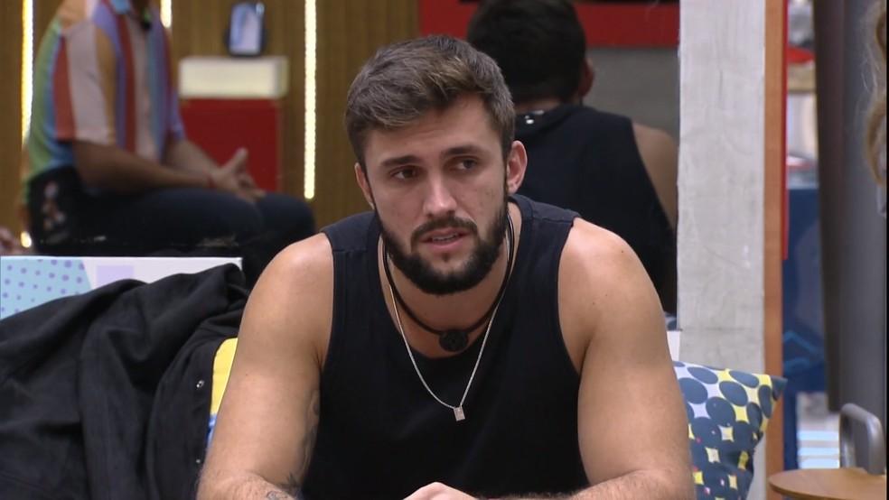 Arthur no 'BBB21' — Foto: Reprodução / TV Globo