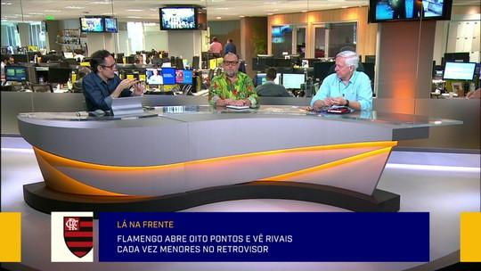 """Diante da boa fase, Redação elogia pontaria do líder Flamengo no mercado: """"Só deu tiro na mosca"""""""