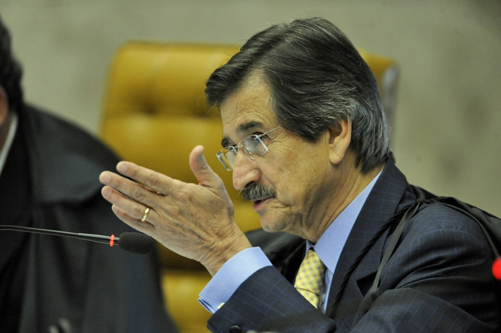 Cezar Peluso, ex-presidente do Supremo Tribunal Federal — Foto: Fabio Rodrigues Pozzebom/ABr