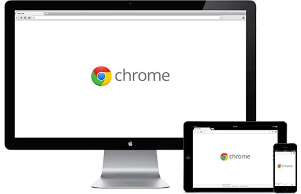 -  Chrome, navegador do Google.  Foto: Divulgação/Google