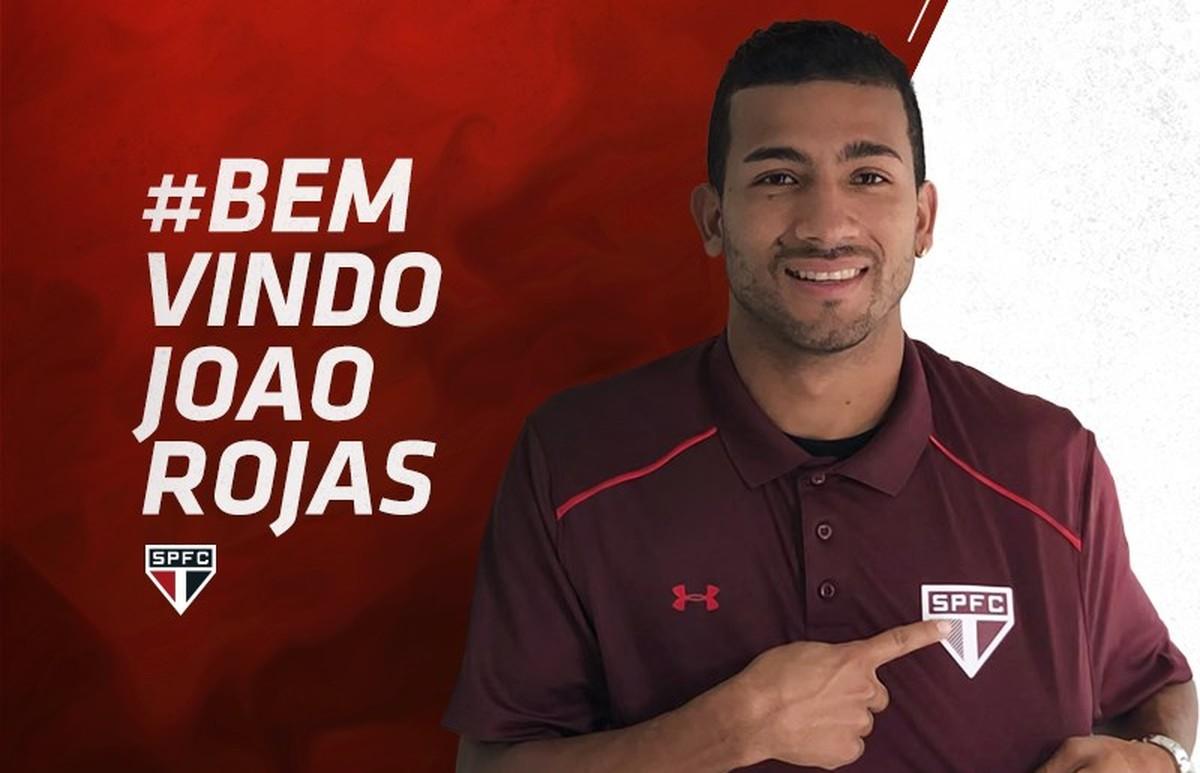 São Paulo anuncia a contratação do equatoriano Joao Rojas  f7ac4dd32b1cf