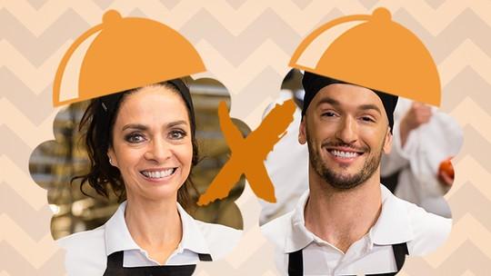Claudia Ohana e Diego Hypolito estão na Panela de Pressão do 'Super Chef'