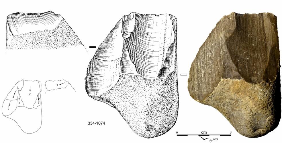 Esquema mostra os artefatos encontrados na Jordânia — Foto: Fabio PArenti/IEA/USP/Divulgação