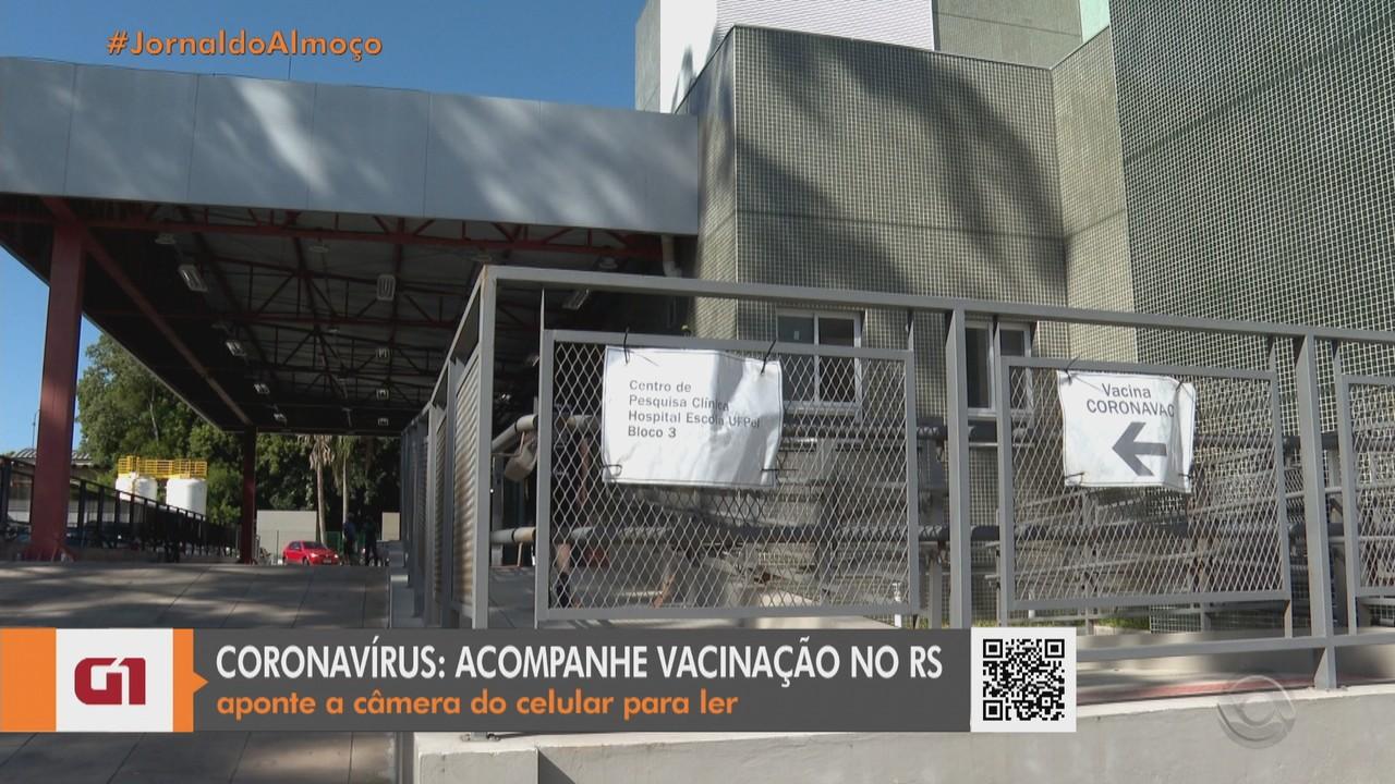 Vacinas devem chegar nesta terça (19) na Região Sul do RS