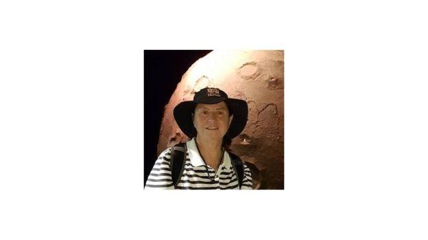 Meteorito ficava na sala da professora e astrônoma Maria Elizabeth Zucolotto, curadora de meteoritos do acervo (Foto: BBC News Brasil)