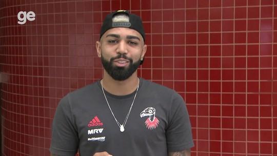 Minuto com Gabigol! De Mundial a pedido de casamento, atacante do Flamengo responde aos fãs