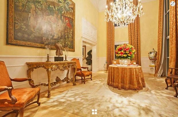 O apartamento milionário de Luciana Gimenez (Foto: Reprodução)