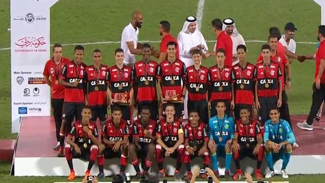 Flamengo Sub-16 vence nos p�naltis o Real Madrid e � campe�o