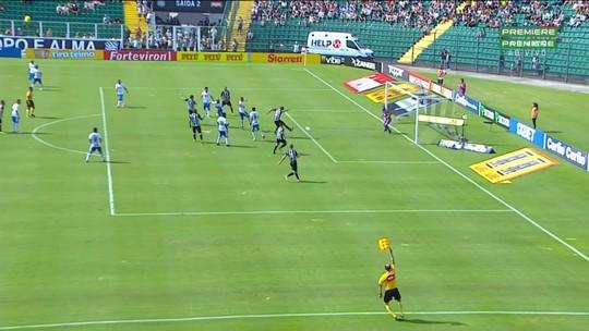 Figueirense 2 x 2 São Bento: assista aos melhores momentos do jogo
