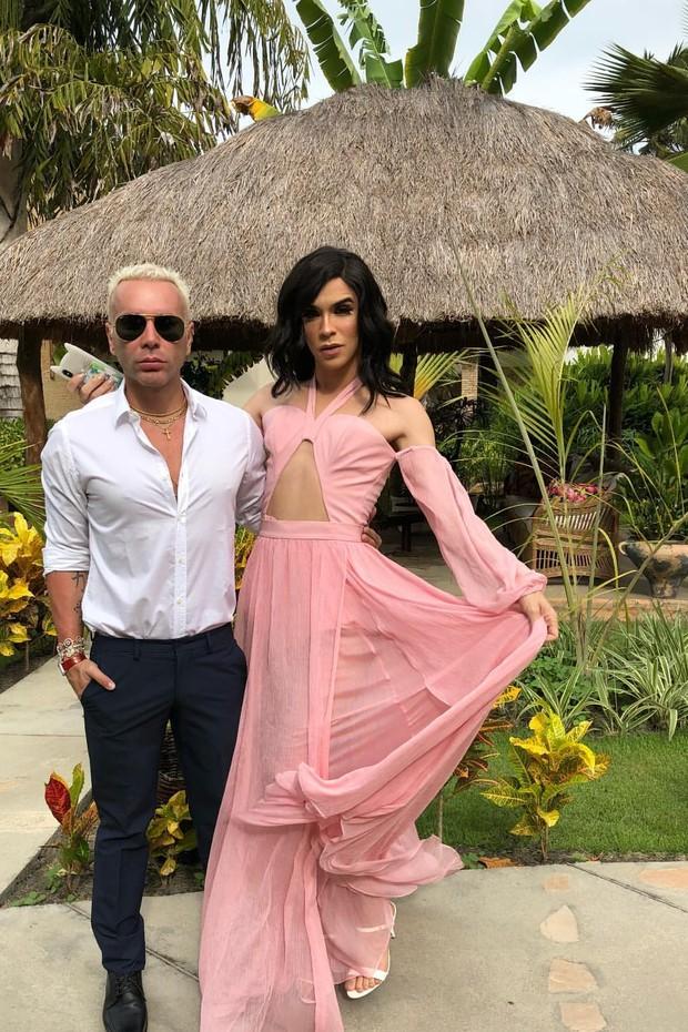 Looks dos famosos para o casamento de Whindersson Nunes e Luisa Sonza (Foto: Reprodução/Instagram)