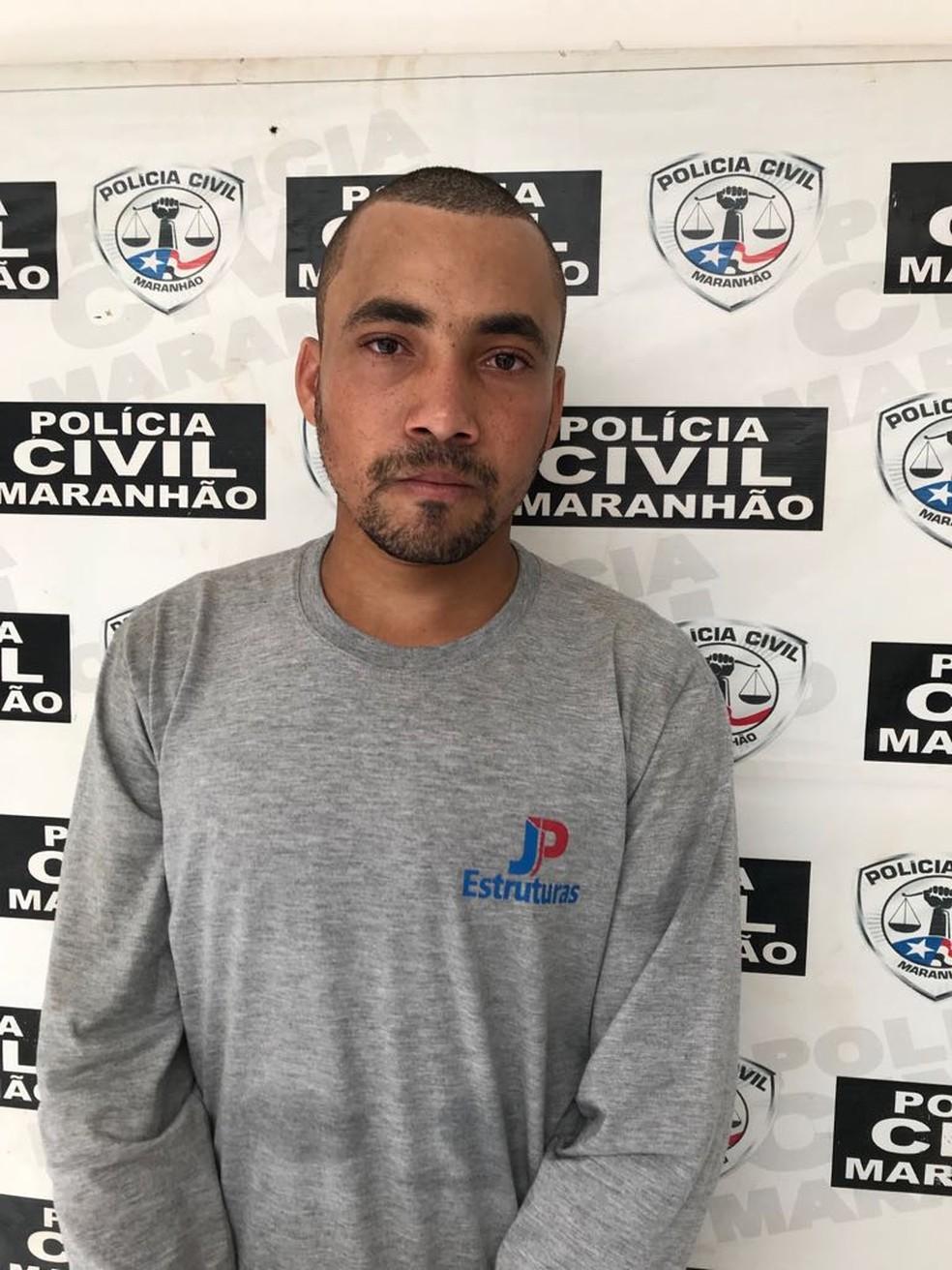Joabson Nascimento Soares era foragido da Justiça e foi preso em Cidelândia — Foto: Divulgação/Polícia Civil