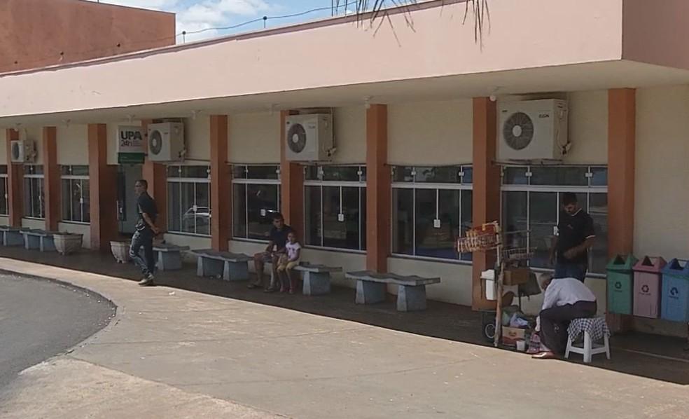 UPA de Ourinhos recebe pacientes com Covid-19  — Foto: TV TEM/Reprodução