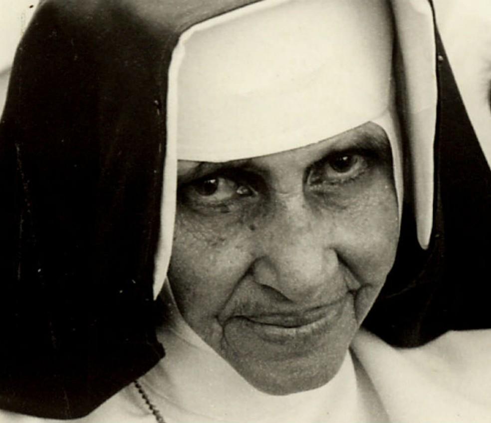 Irmã Dulce é uma das religiosas baianas mais populares do Brasil e se tornará santa. — Foto: Divulgação/Obras Sociais Irmã Dulce