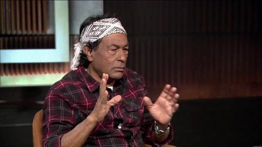'A floresta não ameaça o Brasil, ela cria vida', diz o líder indígena Ailton Krenak