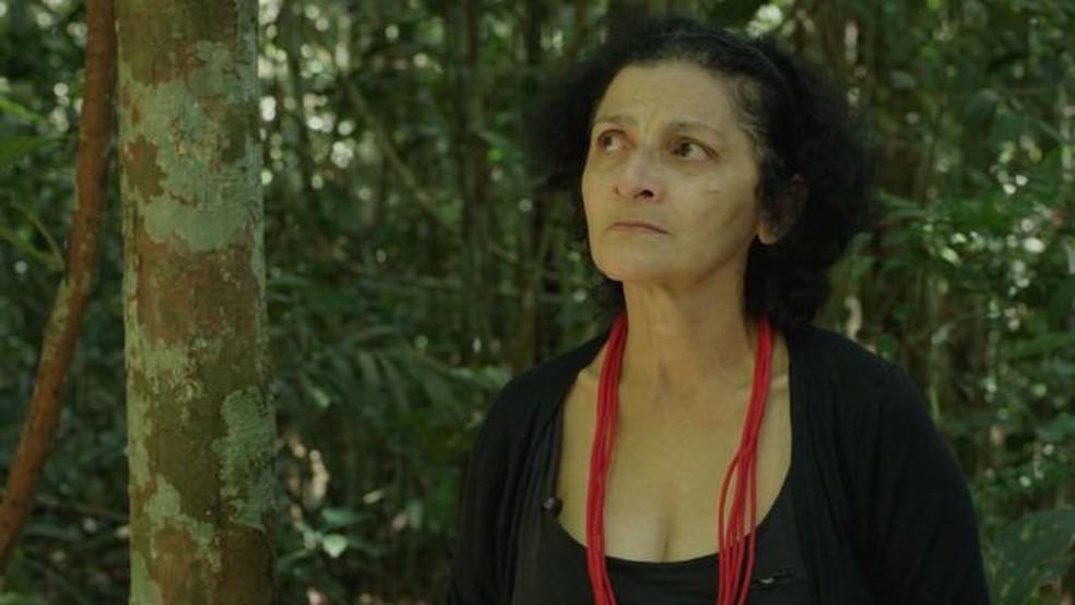 """Para a ambientalista Ivaneide Bandeira, atitudes e declarações de Bolsonaro """"empoderaram os criminosos do meio ambiente"""". — Foto: BBC"""