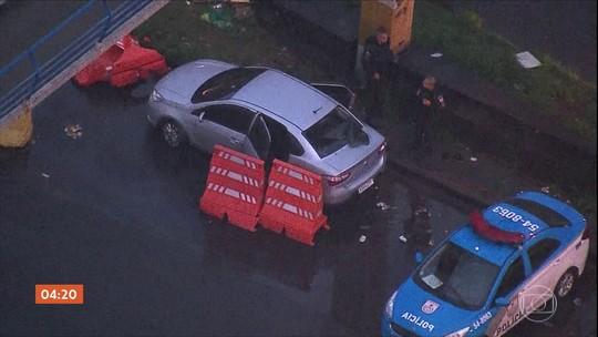 Suspeito de roubar carro no RJ é morto durante perseguição