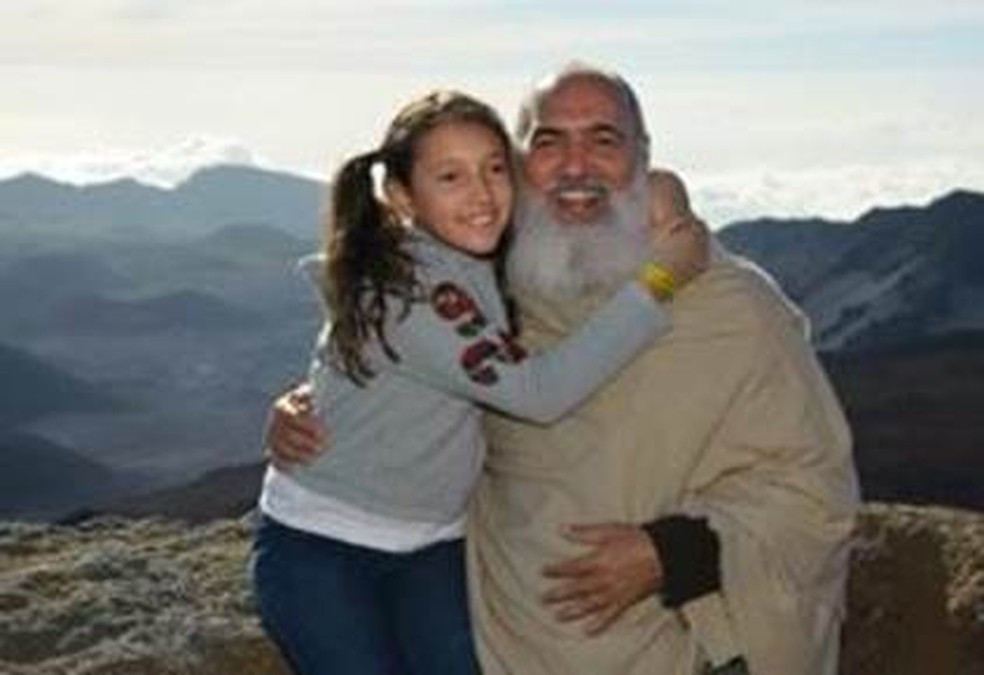 Prem Baba tem uma filha, Nuyt Ananda (Foto: Arquivo pessoal/BBC)