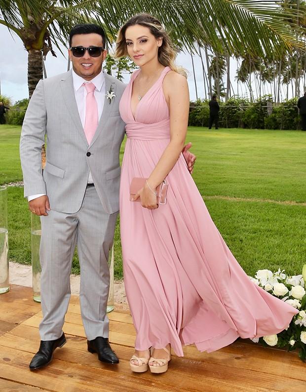 Kauan e Sarah Biancolini (Foto: Manuela Scarpa/Brazil News)