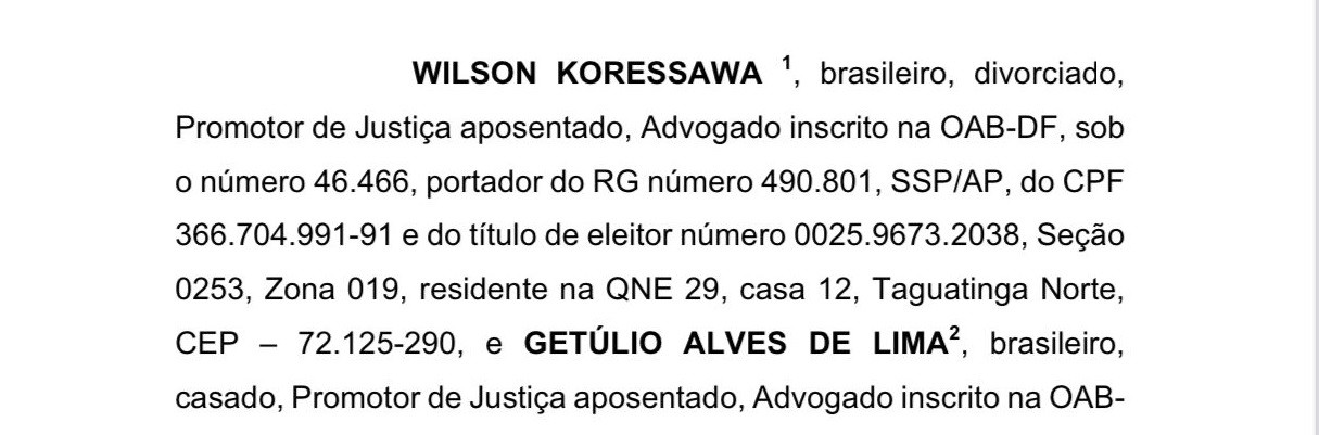 Parece piada: dois promotores aposentados de Brasília pedem a prisão de nove ministros do STF