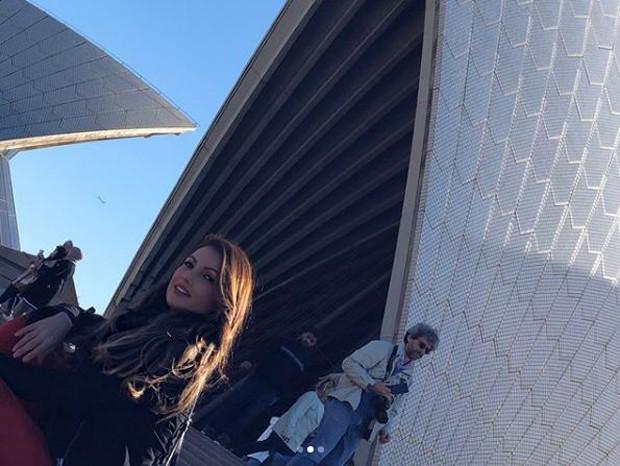 Viagem de Patrícia Poeta à Austrália (Foto: Reprodução/Instagram)
