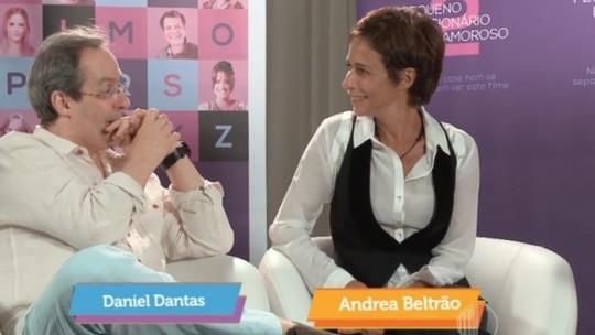 Entrevista com elenco do filme 'Pequeno dicionário amoroso 2'