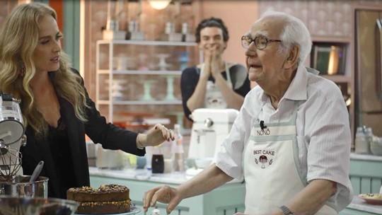 Maria da Paz fica eufórica com convite para repescagem no Best Cake