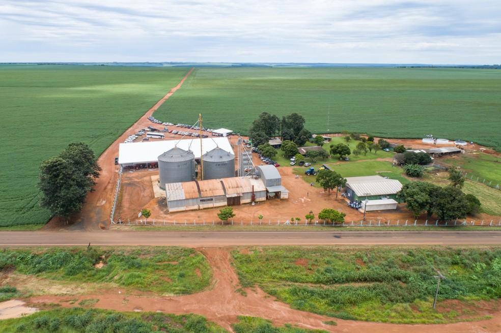 Fazenda Sélia, de propriedade de Rogério Vian, em Mineiros, Goiás — Foto: Eliane de Castro/Divulgação