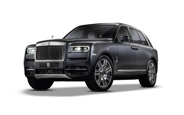 O Rolls-Royce Cullinan (Foto: Divulgação)