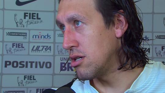 """Cássio, do Corinthians, reclama: """"Faltou botar um árbitro de mais pulso"""""""