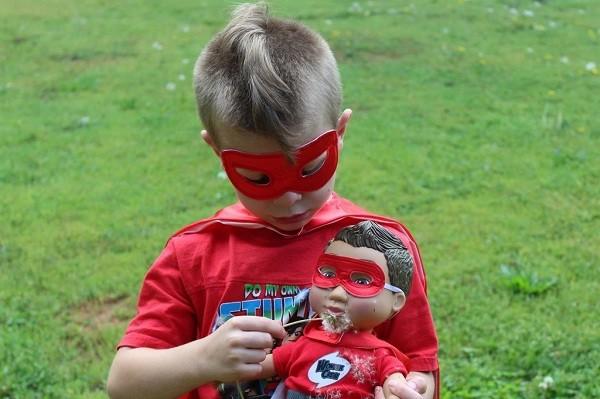 Boneca para meninos (Foto: Divulgação/Wonder Crew Dolls)