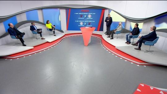 "Jornalistas destacam poder do mando de campo de Internacional e Athletico-PR: ""Times caseiros"""