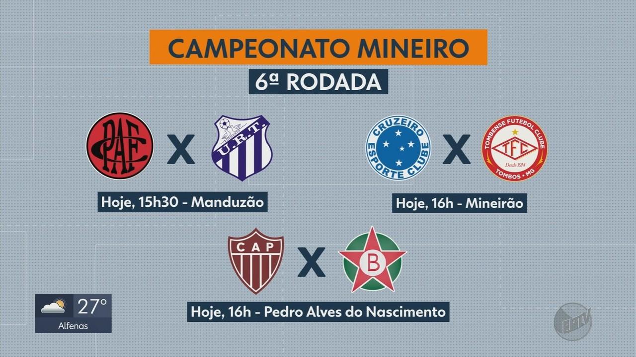 Confira os jogos da 6ª rodada do Campeonato Mineiro