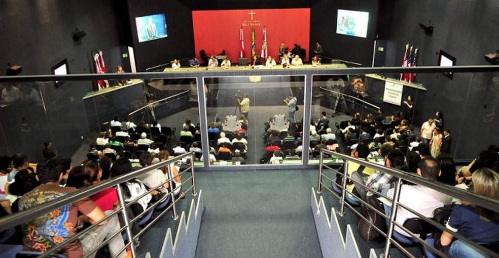 Assembleia Legislativa do Amazonas — Foto: Aleam/Divulgação