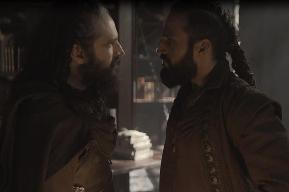 Hermes chega a Artena e confronta Constantino