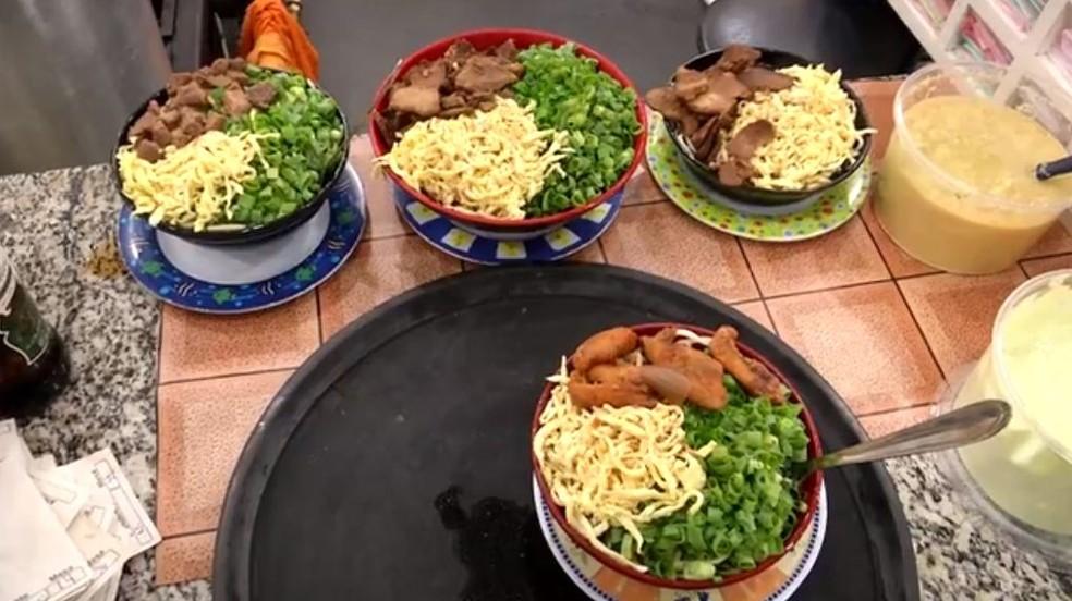 Sobá foi oficializado como prato típico de Campo Grande por lei publicada no Diário Oficial do município nesta sexta-feira (10) (Foto: Reprodução/TV Morena)