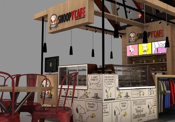Quiosque do Café Snoopy (Foto: Divulgação)