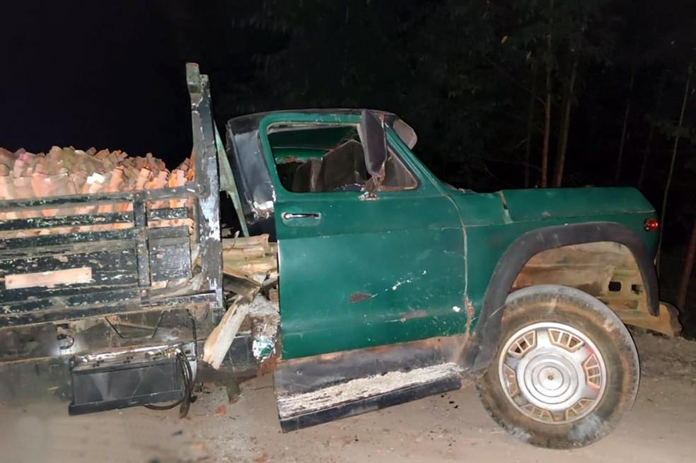 Acidente de caminhão mata criança em Pilar do Sul — Foto: Divulgação