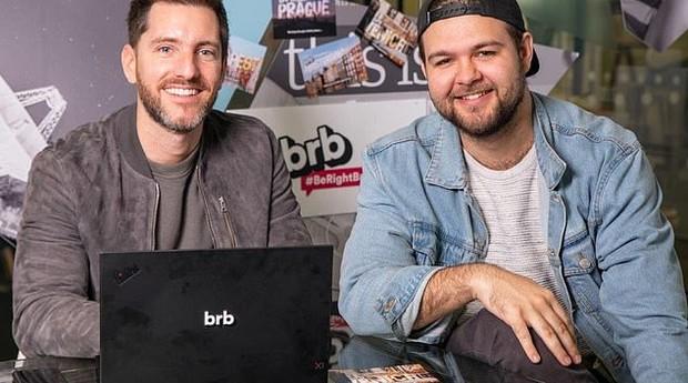 Greg Geny e Alex Tomlinson (Foto: Divulgação)