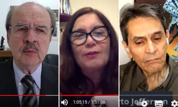 Vídeos compartilhados por parlamentares e bolsonaristas com ataques ao STF seguem no ar