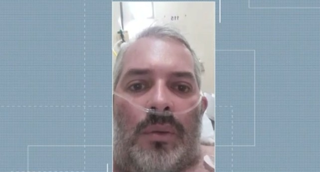 Enfermeiro que foi intubado após ter Covid-19 apresenta melhora: 'Esse vírus quase me venceu'