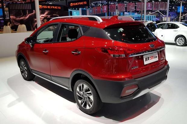 JAC T50 novo é apresentadono são de Xangai (Foto: Julio Cabral/Autoesporte)
